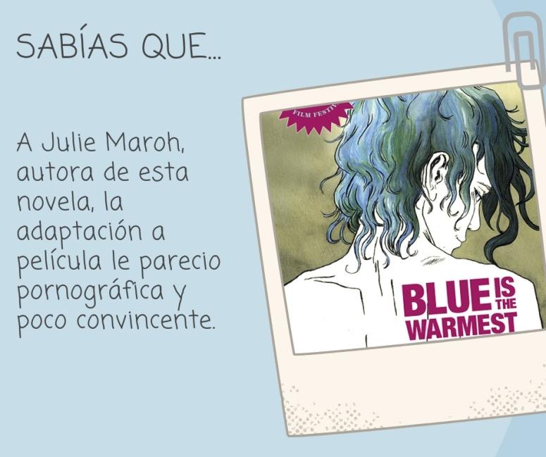 Blue is the warmest_sabias que